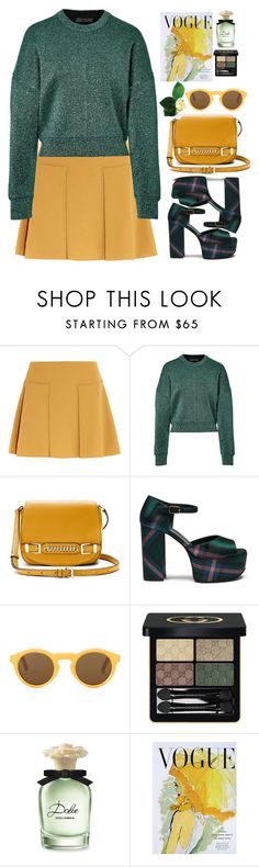 """""""Untitled #441"""" by jovana-p-com ❤ liked on Polyvore featuring See by Chloé, Alexander Wang, Diane Von Furstenberg, Mulberry, CÉLINE, Gucci, Dolce&Gabbana and Art for Life"""