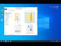 How to Make a Zip File - YouTube Office Hacks, Tech Hacks, Windows 10, Life Hacks, Diy Projects, Zip, Create, Youtube, Handyman Projects