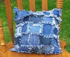 recycled denim pillow - Google zoeken