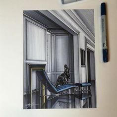 #интерьер #интерьерныйскетч #интерьерныйскетчинг #маркеры #скетч #скетчинг #декор #дизайн #marker #markers #decor #design #drawing #sketch #sketching #interiordesign #interiorsketch #interiordrawing
