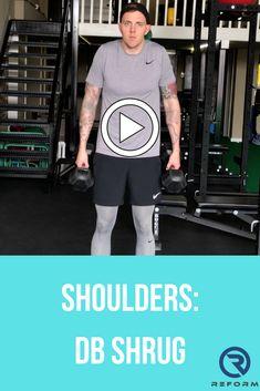 See how we integrate these into our programs at reformedathletes.com/reform-xclusive Shoulder Exercises, Shoulder Workout, Shoulder Training