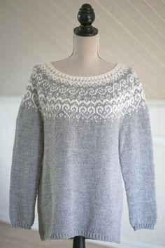 53 Best Ideas for knitting sweaters norwegian fair isles Fair Isle Knitting Patterns, Sweater Knitting Patterns, Loom Knitting, Knit Patterns, Free Knitting, Knitting Sweaters, Norwegian Knitting, Icelandic Sweaters, Work Tops