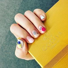 Pin for Later: The Pom-Pom Nail Art Trend Will Give You a Warm and Fuzzy Feeling