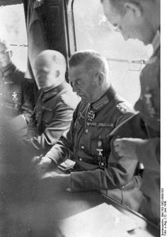 Wilhelm Keitel at the French surrender, Compiègne, France, 22 Jun 1940. (German Federal Archive: Bild 183-1982-0809-503)