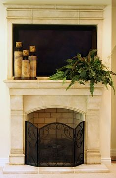 French country love stuff on pinterest french country for French country fireplace