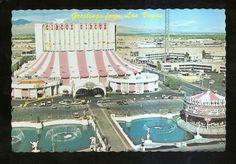 Vtg 1970's Postcard - CIRCUS CIRCUS HOTEL CASINO, LAS VEGAS Nevada