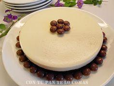 Con tu pan te lo comas: TARTA DE CHOCOLATE BLANCO