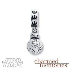 Charmed Memories Star Wars First Order Charm Sterling Silver 1RMdVd