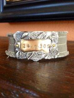 24 .7. 365  Hand Stamped Soldered and by Forgetmenotkeepsake, $25.00