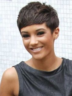 short hair styles 2014 for fine hair | short hairstyles for thin hair with bangs Short Hairstyles for Thin ...