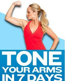 7 arm exercises to tone your arms { #fitness #health #workouts #weightloss #tips }