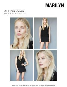 Alena Blohm Marilyn July 2012