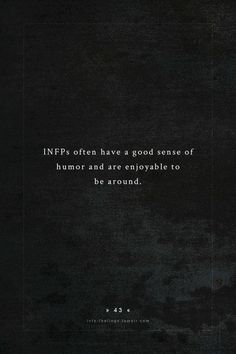 Text by - Myers Briggs Personality Types