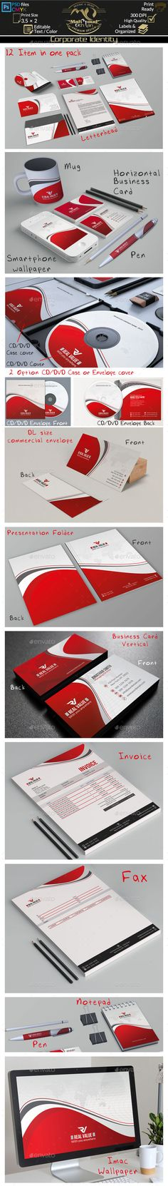 Corporate Identity and Office Supply Template Corporate identity - office supply template