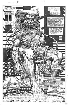 Weapon X by Barry Windsor-Smith