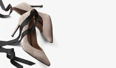 Meet Maisy, bestselling 12-hour pump gets a ballet-inspired update with an ultra-feminine ribbon tie at the ankle. http://bananarepublic.gap.com/browse/product.do?vid=1&pid=382712012