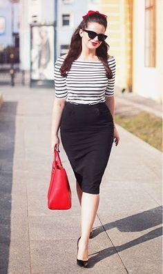Looks de tendencia para chicas con curvas o anchas de cadera