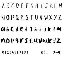 Crazed-Lefty Font