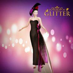 Diosaharu Adamski: GLITTER   Outfit: *GLITTER* SIMPLICITY LUXURY GOWN...