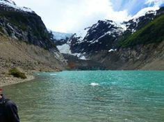 Esquel, Argentina: Laguna en la base del glaciar Torrecilla