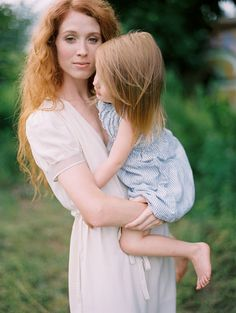 Mother and Daughter.
