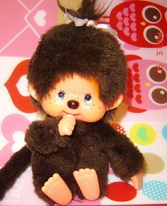 Monchichi! Monchichi! You're so soft and cuddly #80s #memories