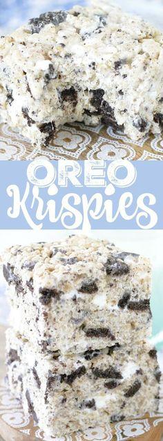 Oreo Krispies Recipe – Popular Recipes of Food Blogs