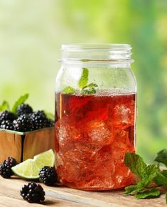 Try Ole Smoky's Shine 'N' Seven! Simply mix equal parts Ole Smoky Blackberry Moonshine and lemon lime soda! Pass the jar and shine responsibly! Summer Drinks, Cocktail Drinks, Fun Drinks, Cocktail Recipes, Alcoholic Beverages, Alcoholic Punch, Alcholic Drinks, Liquor Drinks, Vodka Drinks