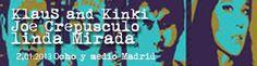 Crónica de Linda Mirada + Joe Crepúsculo Klaus and Kinski en la Ochoymedio Clubclub el pasado sábado:    http://www.underscore.es/detalle_concierto.php?id_conciertos=426    Crónica de Borja Echevarria