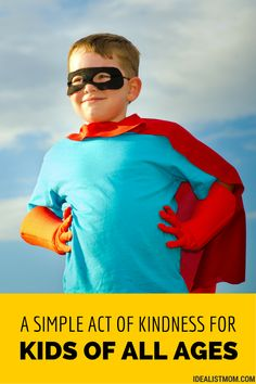 Simple Random Acts of Kindness for Kids of All Ages
