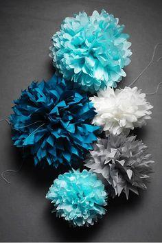 tutorial flores de papel de seda