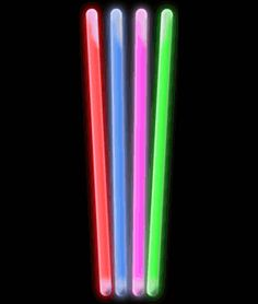 10 Inch Glow Sticks - Assorted - Wholesale Cheap Glow Sticks 25 for $15.99
