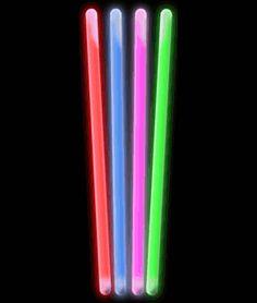 10 Inch Glow Sticks - Assorted - Wholesale Cheap Glow Sticks 25 for $15.99