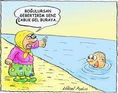 Türkiye'de Anne Olmak Karikatürü Köksal Aydın