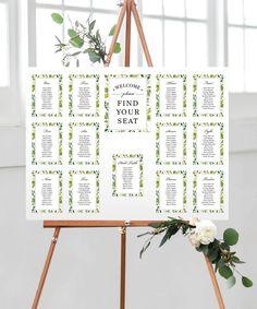 DIY Printable Rustic Wedding Wel e Sign DIY rustic wedding