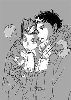 #hq #bokuto #akaashi