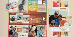 simple stories good day sunshine | ... : layout by Allison Davis using the Good Day Sunshine collection