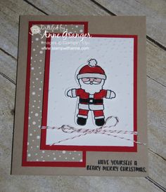 Cookie-Cutter Christmas Stamp Set #CookieCutterChristmas #StampinUp #Christmas