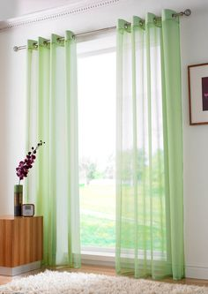Plain Ring Top Voile Panel