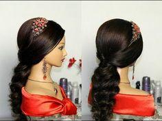Классная прическа на длинные волосы