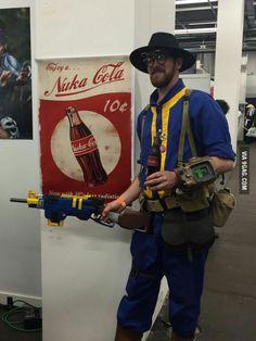 My fallout costume for switzerland comicon