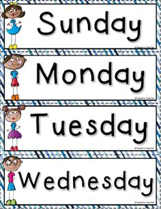 FREE Days of the Week!