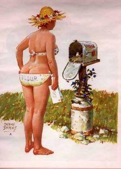 Wall Art Print- Hilda Art Reproduction Vintage Sexy Pin-up Girl Vintage Sexy Plus-size Pin-up Girl Duane Bryers Hilda Print 8 x Pinup Art, Arte Pin Up, Pocket Letter, Curvy Pin Up, Daisy May, Pin Up Girl Vintage, Calendar Girls, Wow Art, Pin Up Girls