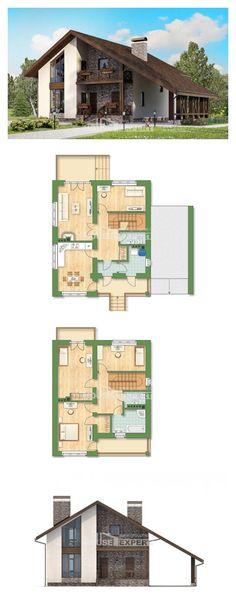 Ev villa projesi 155-007-R | House Expert