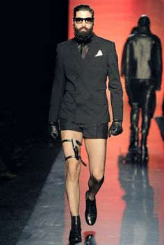 Jean Paul Gaultier Fall 2011 Menswear Fashion Show