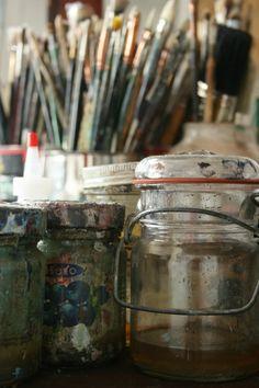 artistandstudio:    Alyssa Monks' studio