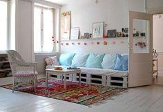 Новые идеи мебели из паллет