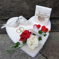 See related links to what you are looking for. Christmas Stockings, Christmas Ornaments, Ring Pillow Wedding, Christmas Crafts For Kids, Just Married, E Bay, Belle Photo, Wedding Gifts, Centerpieces