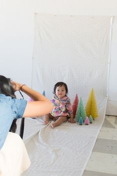 how to create a portrait photo studio at home...
