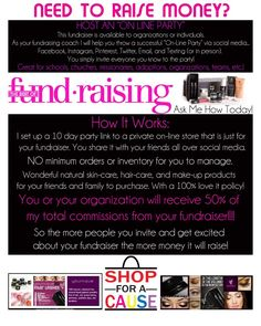 198a6cd16f9 NEED CASH? Let me host an online fundraiser for you! Please Contact me for